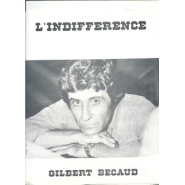 giibert becaud l indifference