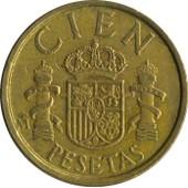 Cien Pesetas 1984