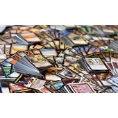 Lot De 100 Cartes Magic The Gathering