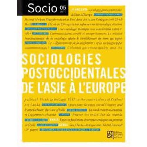 9782735120321 - Collectif: Socio N° 5 - Inventer Les Sciences Sociales Postoccidentales - Livre