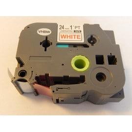 Cassette � Ruban Vhbw 24mm Pour Brother P-Touch E 500 Vp, H 500, H 500 Li, P 700, Rl 700 S. Remplace: Tz-252, Tze-252.