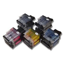Vhbw Lot De 10 Cartouches D'Encre Pour Brother Dcp-110c, Dcp-110, Dcp115 C, Dcp-120 Remplace: Lc-900bk, Lc-900c, Lc-900m, Lc-900y.