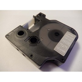 Cassette � Ruban Vhbw 12mm Pour Dymo Labelmaker Pc, Pc2, 1000, 1000+, 2000, 3500, 4500, 5000, 5500. Remplace: Dymo D1, 45020.