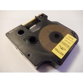Ruban Cassette Cartouche 12mm Vhbw Pour Dymo Labelpoint 100, 150, 200, 250, 300, 350 Comme Dymo D1, 45018.