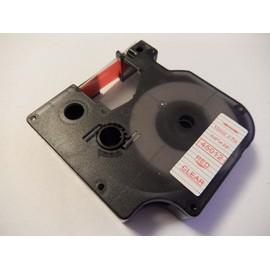 Ruban Cassette Cartouche 12mm Vhbw Pour Dymo Labelpoint 100, 150, 200, 250, 300, 350 Comme Dymo D1, 45012.