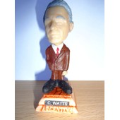 Charlie Watts 1 (Rolling Stones) Petite Statuette Caricaturale En Resine 3x7.5 Cm Made In Argentina