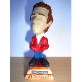 Keith Richards (Rolling Stones) Petite Statuette Caricaturale En Resine 3x7.5 Cm Made In Argentina
