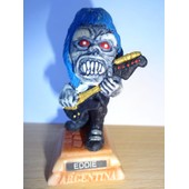 Eddie (Iron Maiden) Petite Statuette Caricaturale En Resine 3x7.5 Cm Made In Argentina