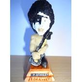 Paul Stanley (Kiss) Petite Statuette Caricaturale En Resine 3x7.5 Cm Made In Argentina