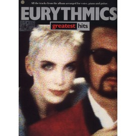 Eurythmics - Greatest Hits - Partitions pour voix, piano et guitare