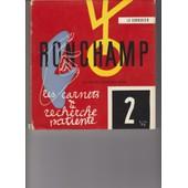 Ronchamp:Les Carnets De La Recherche Patiente de Le Corbusier