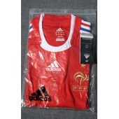 Maillot Equipe De France- Rouge - Neuf - Taille L