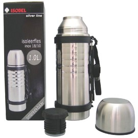 Bouteille Isotherme Incassable Inox 1 L