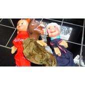 Marionnettes M�re Grand Et Le Loup