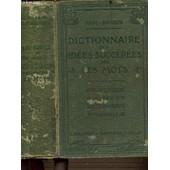 Dictionnaire Des Idees Suggerees Par Les Mots. Bibliotheques De Dictionnaires Manuels + 16 Planches De Figures Hors Texte. Des Idees Suggerees Par Les Mots. 4eme Edition. de paul rouaix