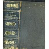 Dictionnaire Universel Des Litteratures - Seconde Edition Revue Et Augmentee D Un Supplement de VAPEREAU G