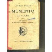 Memento De Poche - 640 Gravures - 42 Cartes Dont 19 En Couleurs - 75 Tableaux de COLLECTIF