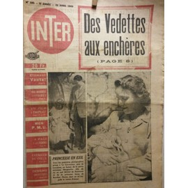 Inter 185 ( Staline, Ingrid Bergman, Jp Sartre)