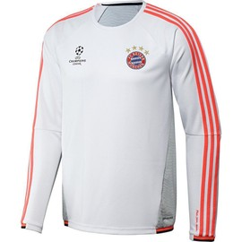 2015-2016 Bayern Munich Adidas Ucl Training Top (White)