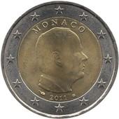 Pi�ce De 2 Euros 2011 Prince Albert De Monaco