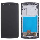Ecran Dalle Lcd + Cadre Vitre Tactile Assembl�s Noir Lg Google Nexus 5 D820 D821
