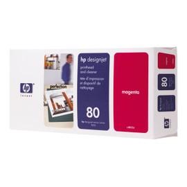 Hp - Magenta - T�te D'impression Avec Nettoyeur - Pour Designjet 1050c, 1050c Plus, 1055cm, 1055cm Plus