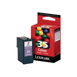 Lexmark - � Rendement �lev� - Couleur (Cyan, Magenta, Jaune) - Original - Cartouche D'encre - Pour P62xx, 91x; X25xx, 35xx, 45xx, 50xx, 52xx, 53xx, 54xx, 7350, 83xx; Z13xx, 14xx, 81x, 845