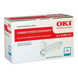 Oki - Cyan - Kit Tambour - Pour C5550 Mfp, 5800dn, 5800ldn, 5800n, 5900cdtn, 5900dn, 5900dtn, 5900n