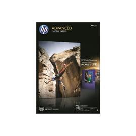 Hp Advanced Photo Paper Q8697a - Papier Photo Brillant - A3 (297 X 420 Mm) - 250 G/M2 - 20 Feuille(S)