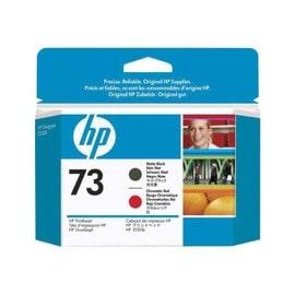 Hp 73 - Noir Mat, Rouge Chromatique - T�te D'impression - Pour Designjet Z3200, Z3200ps
