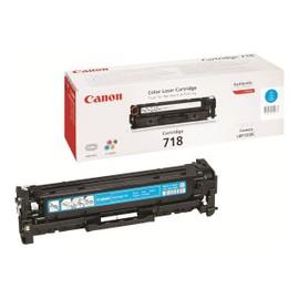 Canon 718 Cyan - Cyan - Original - Cartouche De Toner - Pour I-Sensys Lbp7210, Lbp7680, Mf728, Mf729, Mf8340, Mf8360, Mf8380, Mf8540, Mf8550, Mf8580