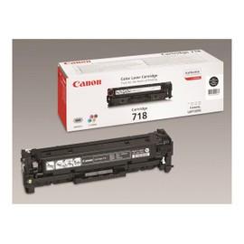 Canon 718 Black - Noir - Original - Cartouche De Toner - Pour I-Sensys Lbp7210, Lbp7680, Mf728, Mf729, Mf8340, Mf8360, Mf8380, Mf8540, Mf8550, Mf8580