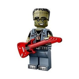 Mini Figurine Lego S�rie 14 Les Monstres - Mod�le Monster Rocker
