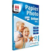 Papier Photo Brillant A4 200g/m� 20f