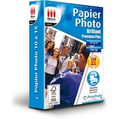 Papier Photo Brillant 10x15 255g/m� 130f