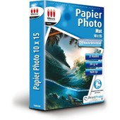 Papier Photo Mat 10x15 300g/m� 35 feuilles