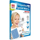 Etiquettes Sp�cial Microsoft� Word