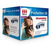 150 Pochettes pour CD et DVD
