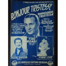 BONJOUR TRISTESSE ( BUONGIORNO TRISTEZZA )Tino Rossi