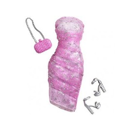 Barbie Habit : Robe Bustier Rose - Poup�e Et Mini-Poup�e