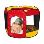 Tente Pliable Avec 100 Balles Multicolores - Jeu Plein Air
