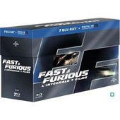 Fast And Furious - L'int�grale 7 Films - Blu-Ray+ Copie Digitale de Rob Cohen