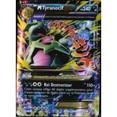 Carte Pok�mon 43/98 Mega Tyranocif Ex 240 Pv - Ultra Rare Xy07 Neuf Fr