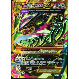 Carte Pok�mon 98/98 Mega Rayquaza Ex 220 Pv - Ultra Rare