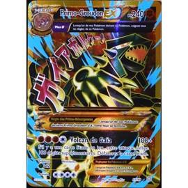 Carte Pok�mon 97/98 Primo-Groudon Ex 240 Pv - Ultra Rare