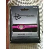 Bracelet Power Balance V�ritable Usa - Taille L - Rose