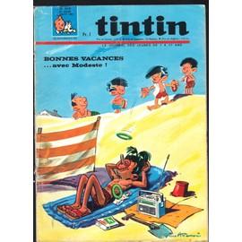 Tintin Hebdomadaire 976 Du 6 Juillet 1976