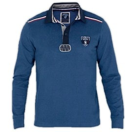 Polo Homme Rugby Team France Shilton Team Manches Longues