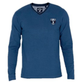 Tee Shirt Homme Manches Longues Rugby France Shilton