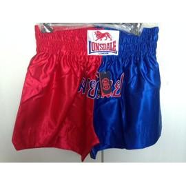 Bowe Thai Short Lonsdale 2xl Neuf !! Rouge Et Bleu